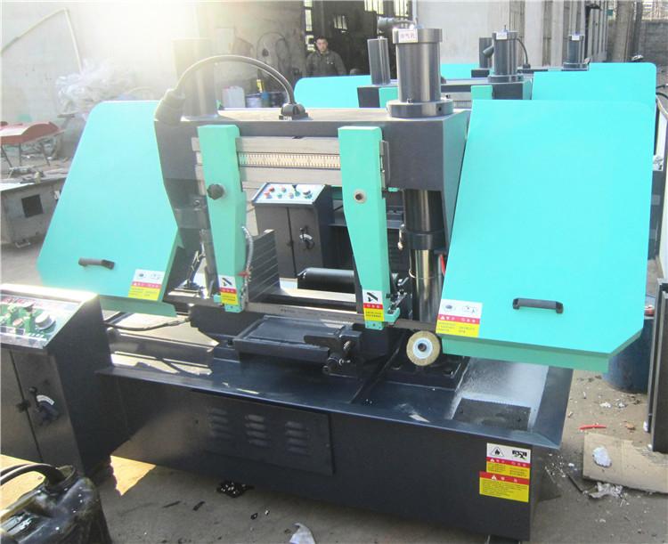 供应液压 金属带锯床 gb4228金属带锯床液压双柱龙门式设计锯切强劲精图片