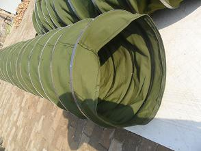 环保除尘帆布通风软管产品图