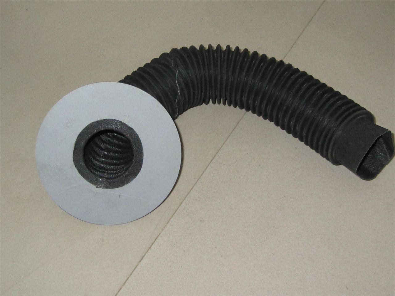 液压缸圆筒式防尘罩产品图