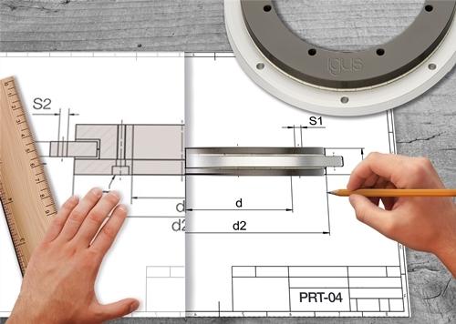 新紧凑型igus回转环轴承:在狭小空间内进行快速旋转运动
