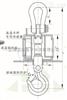 亚津【供应】浙江蓝箭15T无线电子吊秤带手持遥控无线吊磅秤
